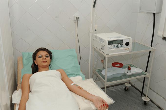 процедура введения озона внутривенно