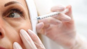 ход процедуры мезотерапия области глаз