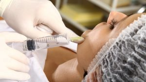 процедура озонотерапии лица